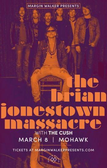 The Brian Jonestown Massacre with The Cush at Mohawk