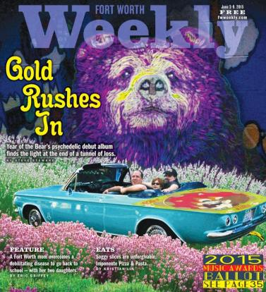 Year of the Bear on the front page of Fort Worth Weekly